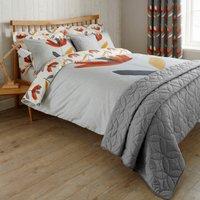 Elements Blomma Reversible Duvet Cover and Pillowcase Set Multi-coloured