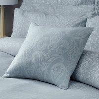 Marsella Blue Jacquard Square Cushion Blue