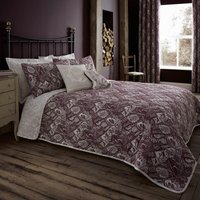 Willow Plum Bedspread Purple