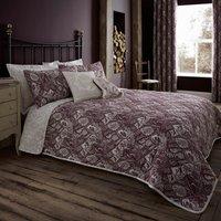 Willow Plum Bedspread Purple
