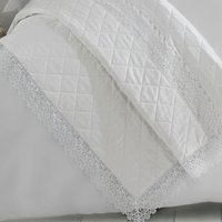 Holly Willoughby Henrietta White Bedspread White