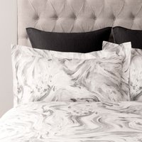 5A Fifth Avenue Prescott Grey Oxford Pillowcase Pair Grey