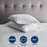 Fogarty So Soft Cotton Pillow Pair White