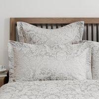 Dorma Winchester Oxford Pillowcase Pair Grey