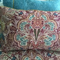 Dorma Merton Moresque Housewife Pillowcase Pair Red/Blue
