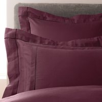 5A Fifth Avenue Portland Plum Oxford Pillowcase Pair Plum (Purple)