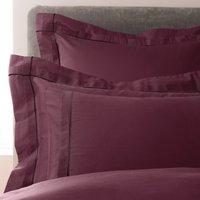 5A Fifth Avenue Portland Plum Oxford Pillowcase Pair Plum (Purple)