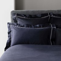 5A Fifth Avenue Portland Navy Oxford Pillowcase Pair Navy (Blue)