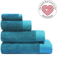 Air Rich Emerald Towel Teal (Blue)