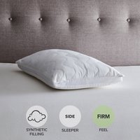 Cooler Than Memory Foam Pillow White