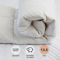 Duck Feather 13.5 Tog Duvet White