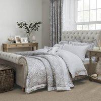 Dorma Samira Grey Duvet Cover Grey