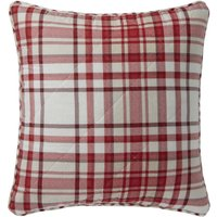 Hartford Red Square Cushion Red