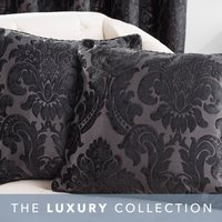 Versailles Black Cushion Black