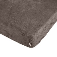 Teddy Bear Taupe Fitted Sheet Taupe (Brown)