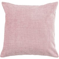 Large Chenille Blush Cushion Blush