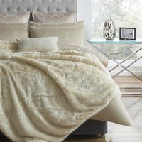 5A Fifth Avenue Rockefeller Cream Throw Cream