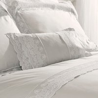 Holly Willoughby Aimee Silver Cushion Silver