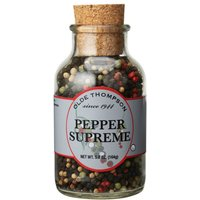 Olde Thompson Small Mixed Pepper Jar Clear