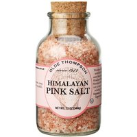 Olde Thompson Pink Himalayan Salt Jar Clear