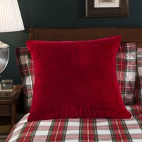 Dorma Isla Continental Pillowcase Red