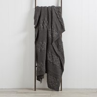 Laken Grey Throw Grey