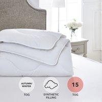 Dorma Full Forever Anti Allergy 15 Tog Duvet White