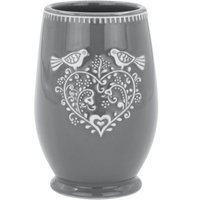 Jan Constantine Love Birds Grey Tumbler Grey
