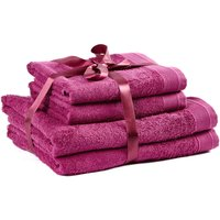 4 Piece Wine Towel Bale Wine (Purple)