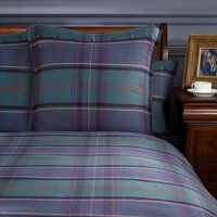 Dorma Lomond Continental Pillowcase Blue