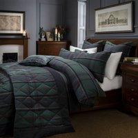 Dorma Lomond Bedspread Blue