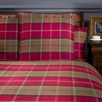 Dorma Lomond Red Continental Pillowcase Red