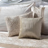 Lausanne Cream Pleated Cushion Cream