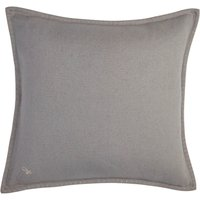 Jan Constantine Large Grey Blanket Stitch Cushion Grey