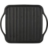 Sabatier Cast Iron Reversible Grill/Griddle Black