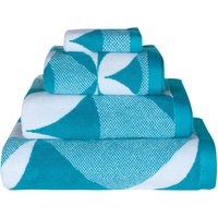 Lindsey Lang Radiate Sea Blue Towel Sea Blue