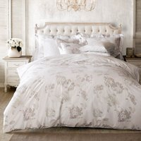 Holly Willoughby Hydrangea White Oxford Pillowcase Pair White