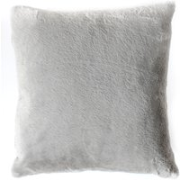 Grey Faux Rabbit Cushion Grey