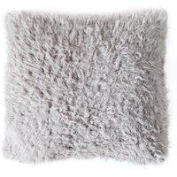 Grey Sherpa Cushion Grey