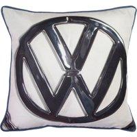 VW Logo Square Cushion Multi Coloured