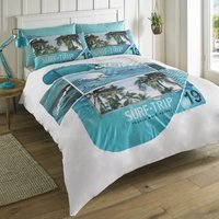 HASHTAG Offshore Patrol Duvet Cover and Pillowcase Set Blue