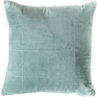 Kirkby Stabstitch Duck Egg Cushion Blue