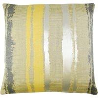 Large Margo Ochre Stripe Cushion Cover Ochre