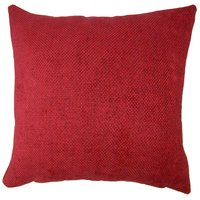 Large Orlando Red Cushion Cover Red