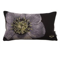 Harris & Hatherly by Jane Abbott Hellebore Tapestry Cushion Multi Coloured