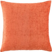 Chenille Large Rust Cushion Rust (Orange)