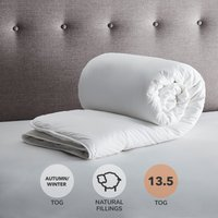 Fogarty Down Touch 13.5 Tog Duvet White