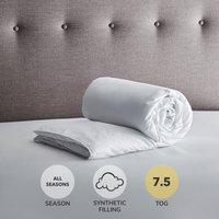 Fogarty Soft Touch 7.5 Tog Duvet Super Kingsize White