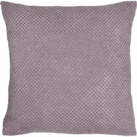 Large Chenille Spot Mauve Cushion Mauve