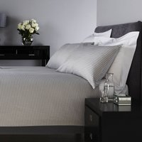 Behrens Dogstooth Duvet Cover and Pillowcase Set Warm Grey